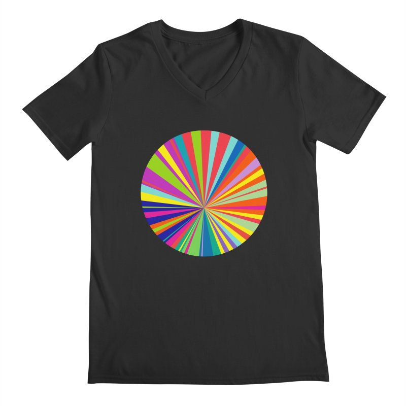 color wheel Men's V-Neck by upso's Artist Shop