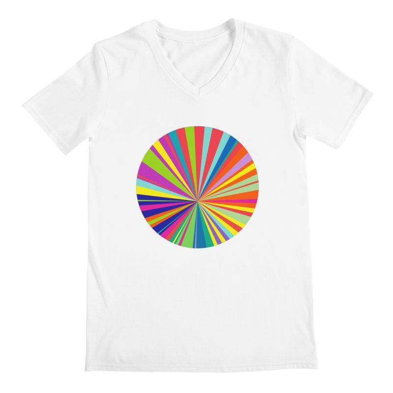 color wheel Men's V-Neck by upso's Artist Shop