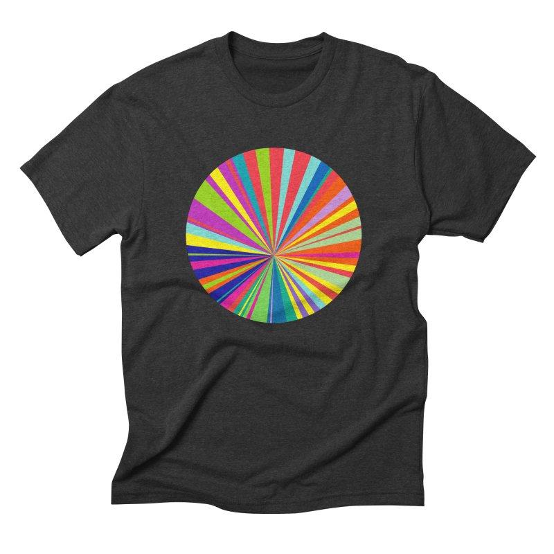 color wheel Men's Triblend T-shirt by upso's Artist Shop