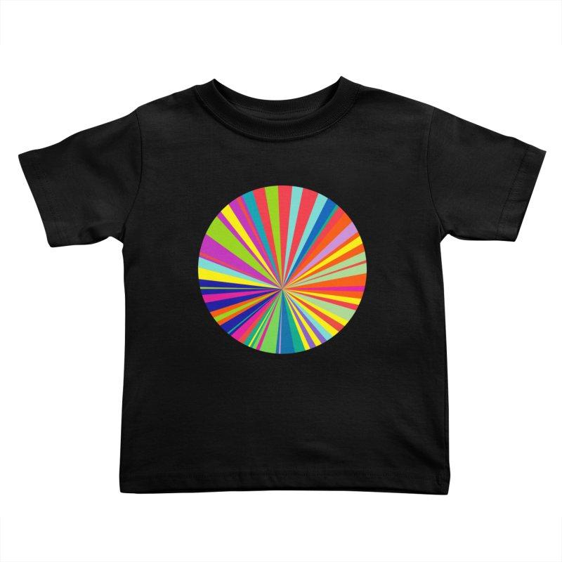 color wheel Kids Toddler T-Shirt by upso's Artist Shop