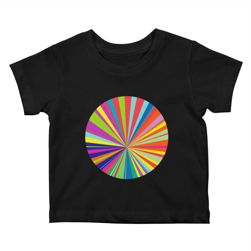 color wheel Kids Baby T-Shirt by upso's Artist Shop