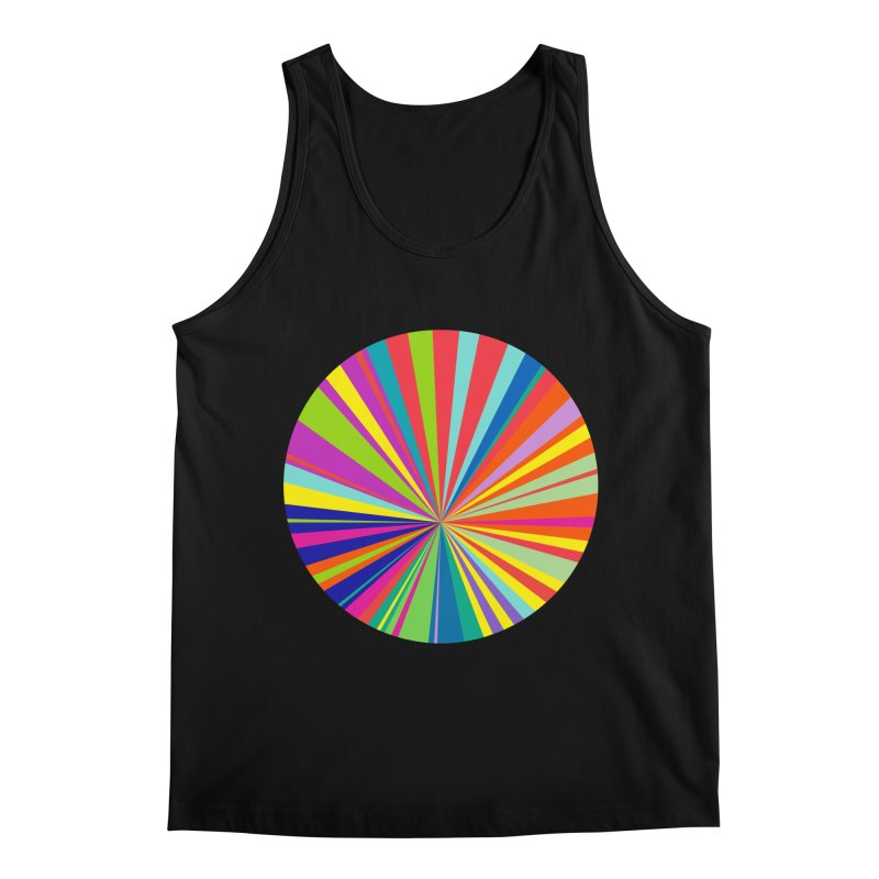 color wheel Men's Regular Tank by upso's Artist Shop