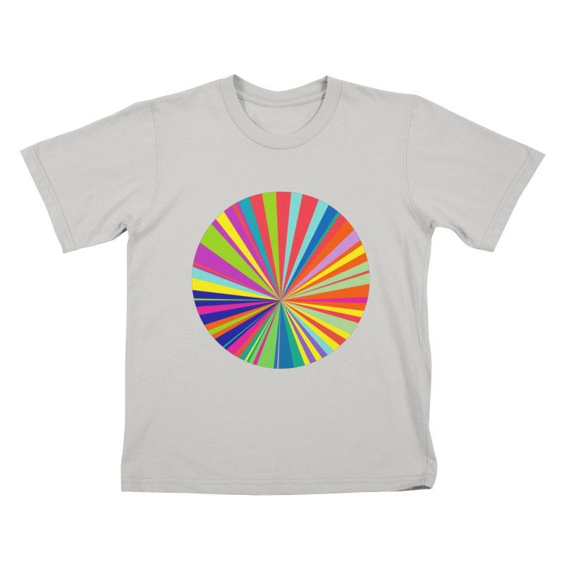 color wheel Kids T-shirt by upso's Artist Shop