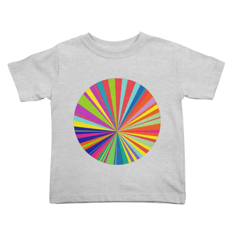 color wheel Kids Toddler T-Shirt by upso's Artist Shop