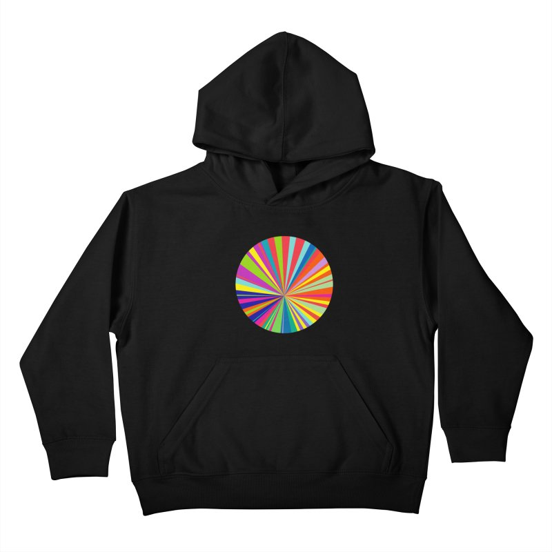 color wheel Kids Pullover Hoody by upso's Artist Shop