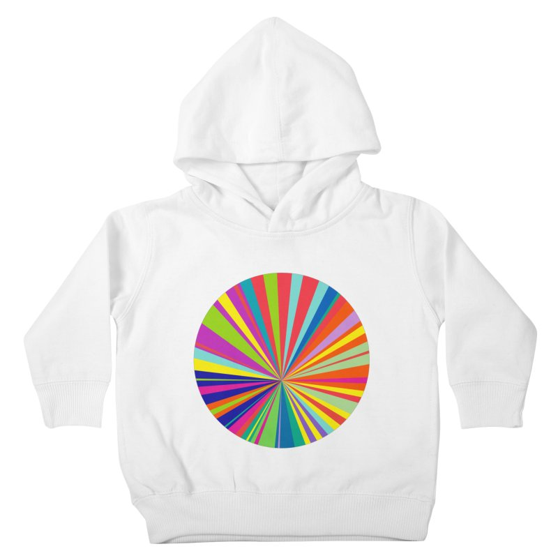 color wheel Kids Toddler Pullover Hoody by upso's Artist Shop
