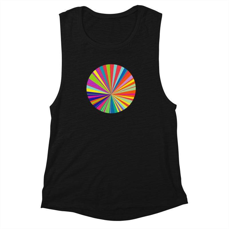 color wheel Women's Muscle Tank by upso's Artist Shop