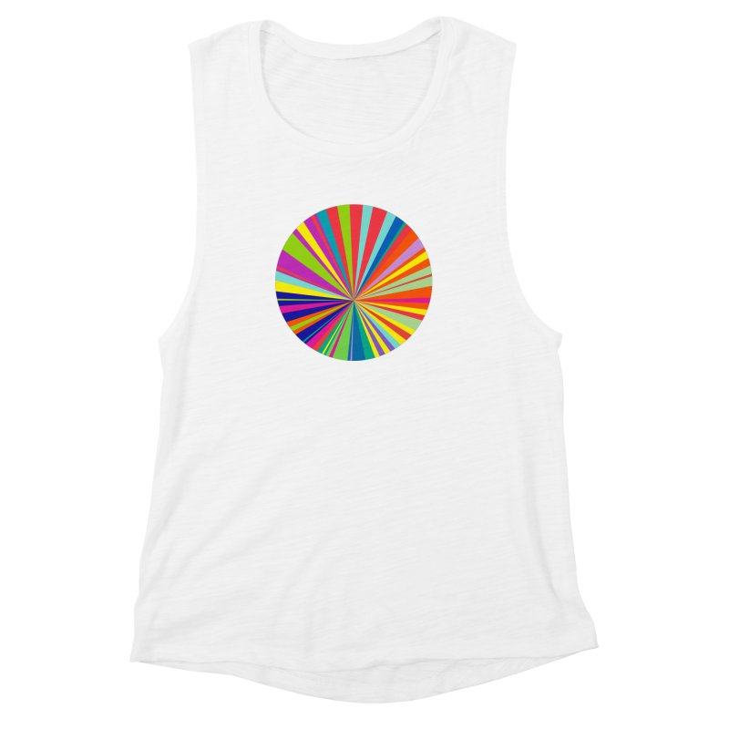 color wheel Women's Muscle Tank by upso's Artist Shop