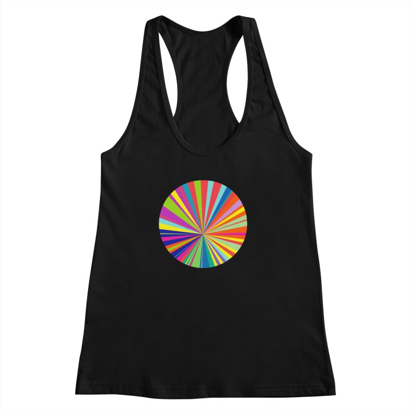 color wheel Women's Racerback Tank by upso's Artist Shop