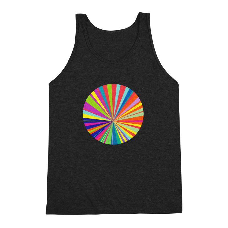 color wheel Men's Triblend Tank by upso's Artist Shop