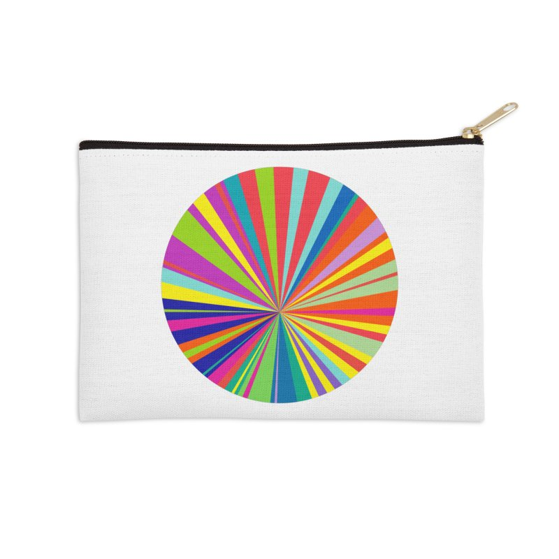 color wheel Accessories Zip Pouch by upso's Artist Shop