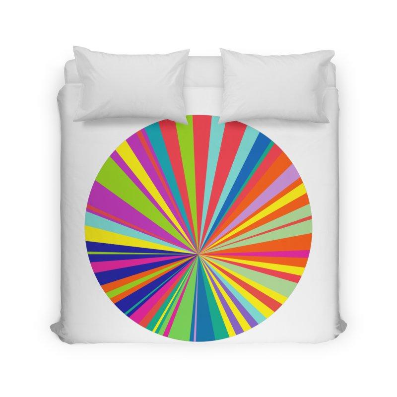color wheel Home Duvet by upso's Artist Shop