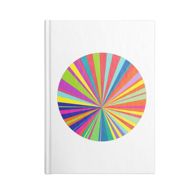 color wheel Accessories Blank Journal Notebook by upso's Artist Shop