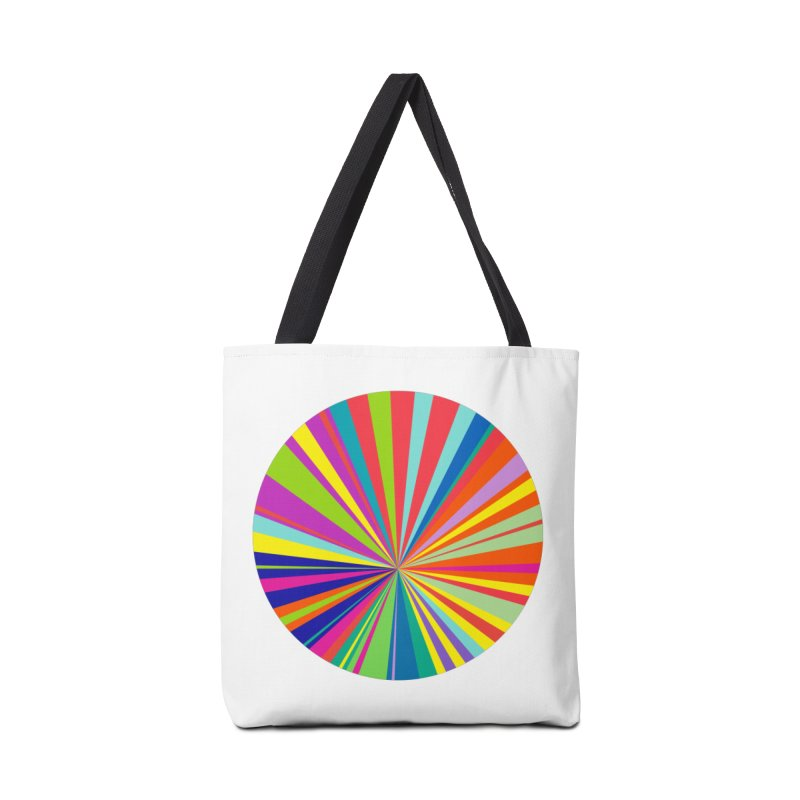 color wheel Accessories Bag by upso's Artist Shop