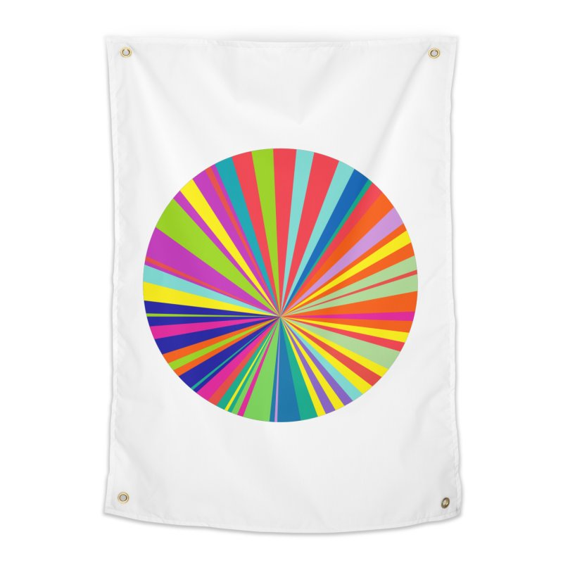 color wheel Home Tapestry by upso's Artist Shop