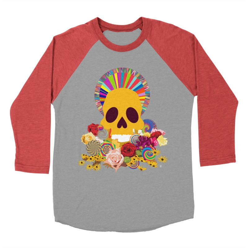 you're going to die Women's Baseball Triblend Longsleeve T-Shirt by upso's Artist Shop