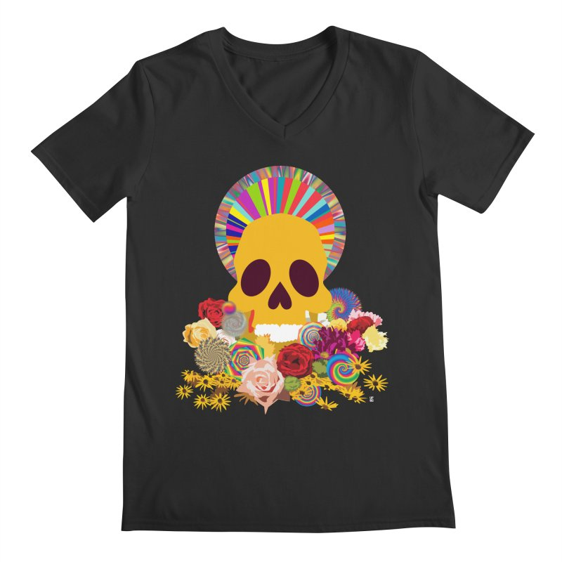 you're going to die Men's V-Neck by upso's Artist Shop