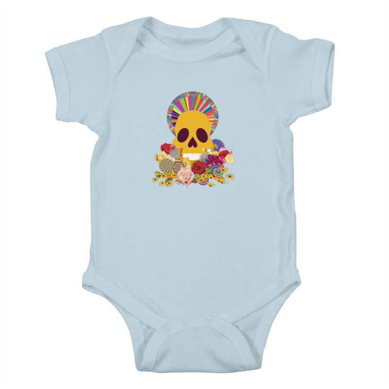 you're going to die Kids Baby Bodysuit by upso's Artist Shop