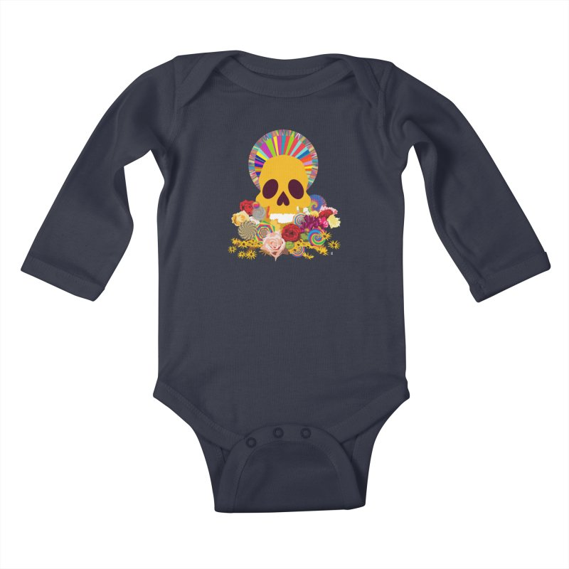 you're going to die Kids Baby Longsleeve Bodysuit by upso's Artist Shop