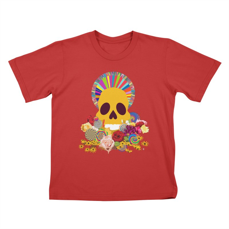 you're going to die Kids T-shirt by upso's Artist Shop