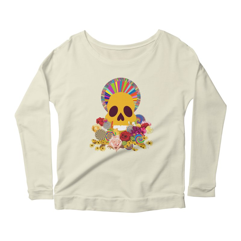 you're going to die Women's Longsleeve Scoopneck  by upso's Artist Shop