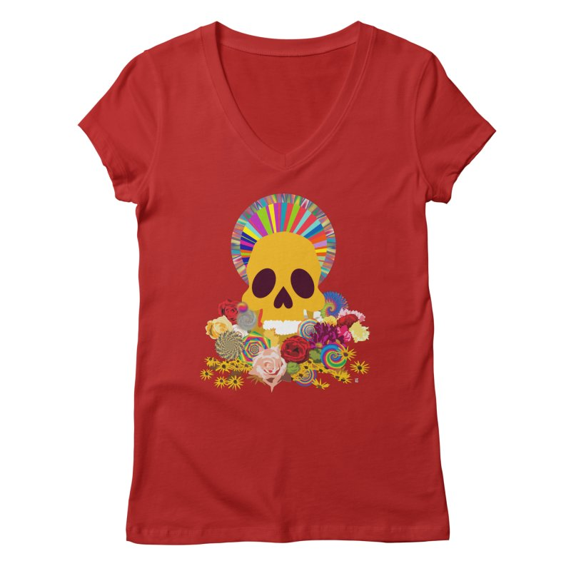 you're going to die Women's V-Neck by upso's Artist Shop