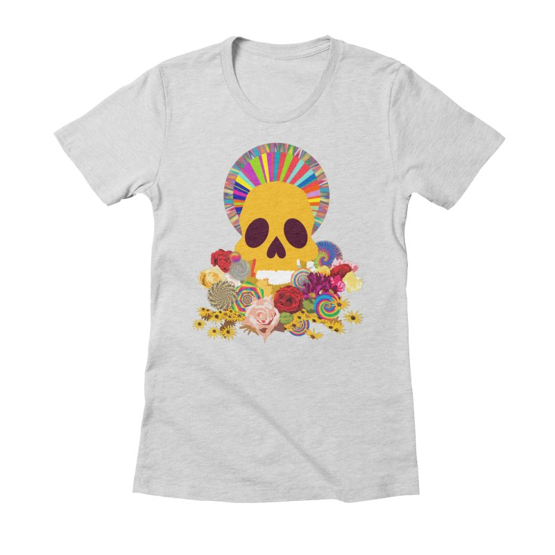you're going to die Women's Fitted T-Shirt by upso's Artist Shop