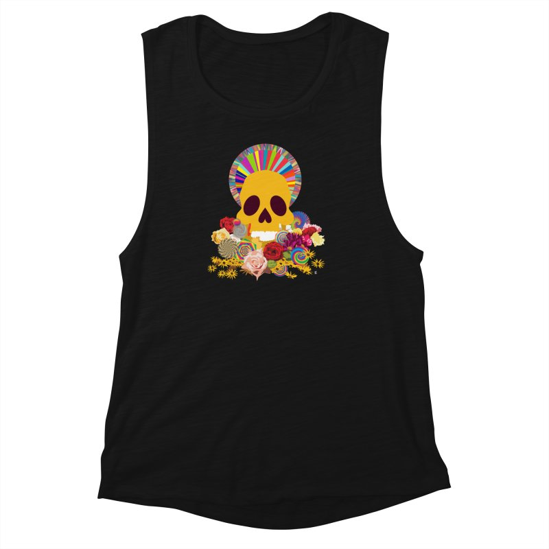 you're going to die Women's Muscle Tank by upso's Artist Shop
