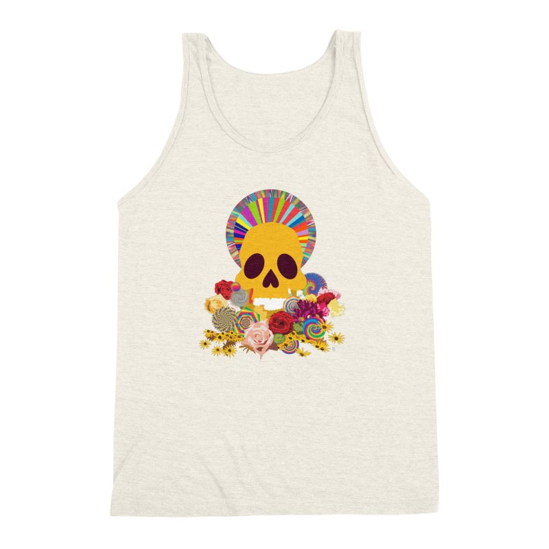 you're going to die Men's Triblend Tank by upso's Artist Shop