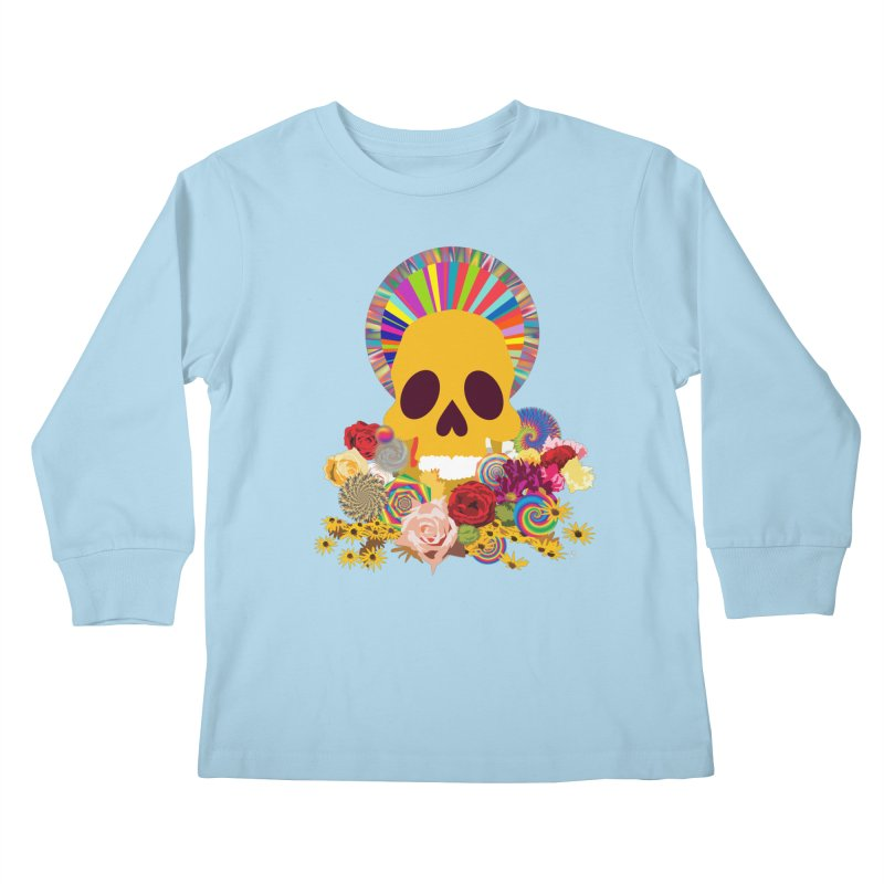 you're going to die Kids Longsleeve T-Shirt by upso's Artist Shop