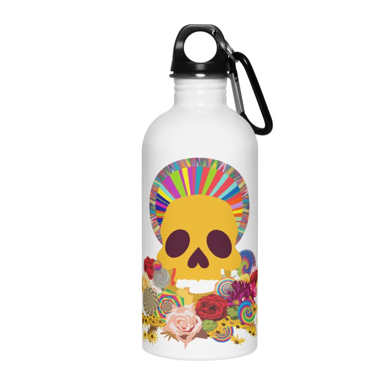 you're going to die Accessories Water Bottle by upso's Artist Shop