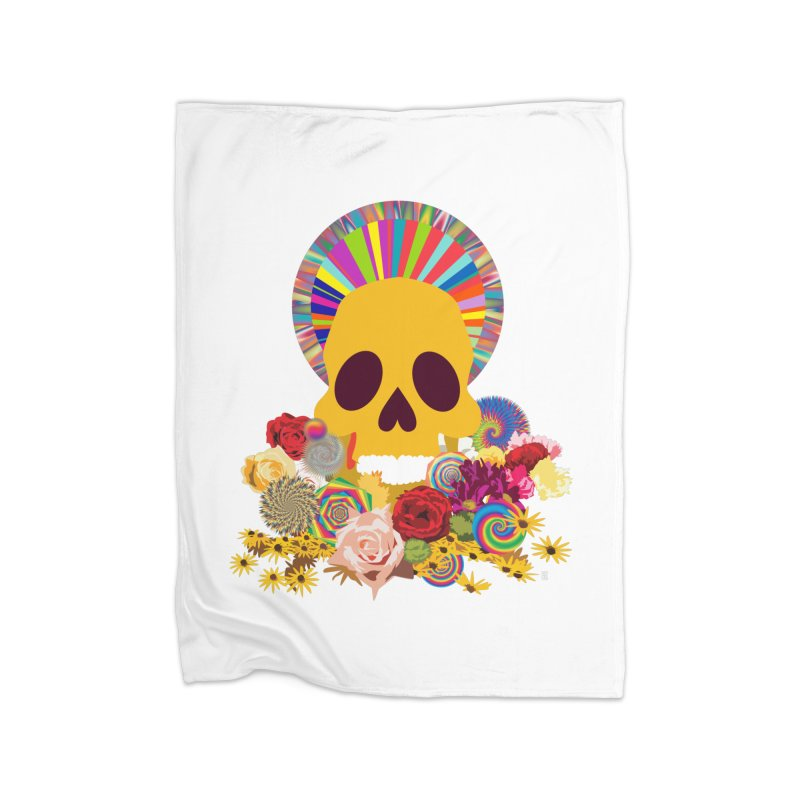you're going to die Home Blanket by upso's Artist Shop