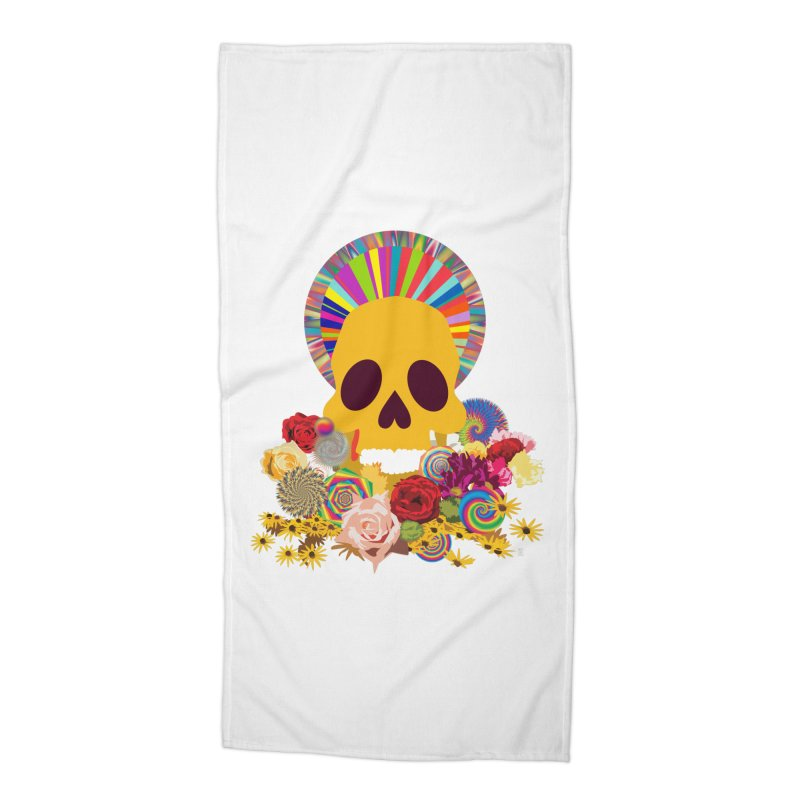 you're going to die Accessories Beach Towel by upso's Artist Shop