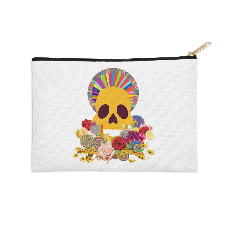 you're going to die Accessories Zip Pouch by upso's Artist Shop