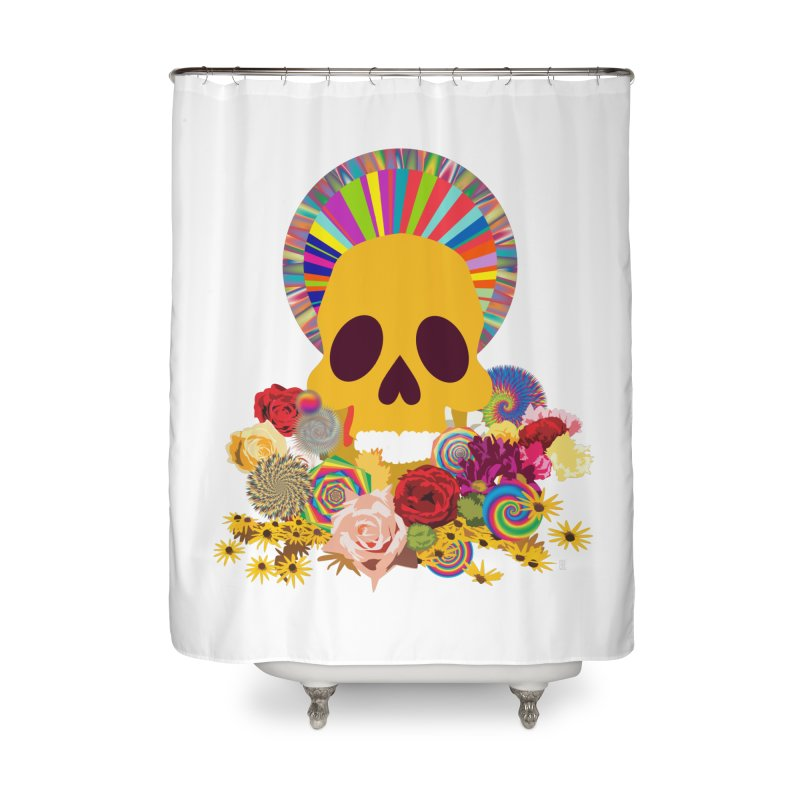 you're going to die Home Shower Curtain by upso's Artist Shop