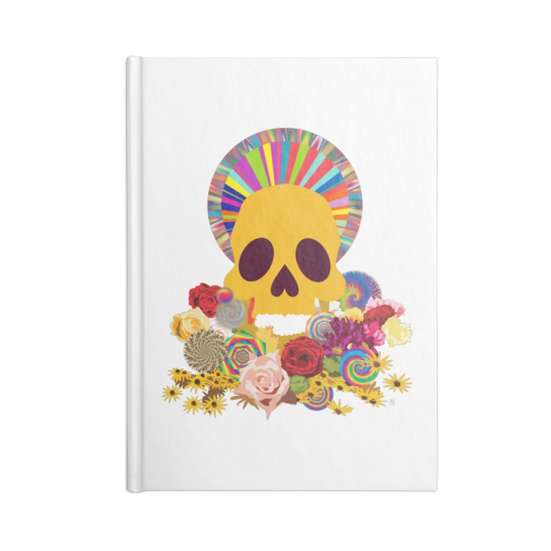 you're going to die Accessories Blank Journal Notebook by upso's Artist Shop