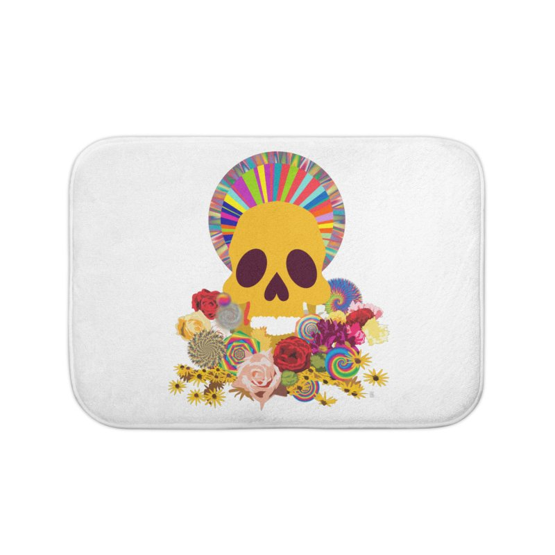 you're going to die Home Bath Mat by upso's Artist Shop