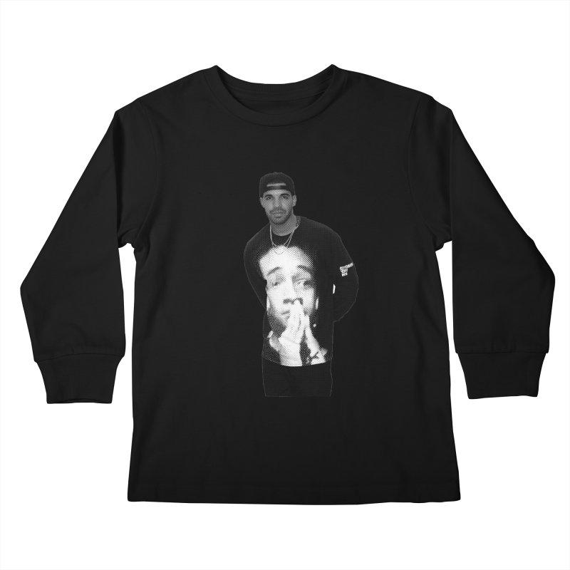 drake & jaden Kids Longsleeve T-Shirt by upso's Artist Shop