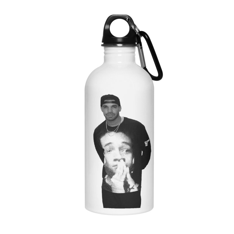 drake & jaden Accessories Water Bottle by upso's Artist Shop