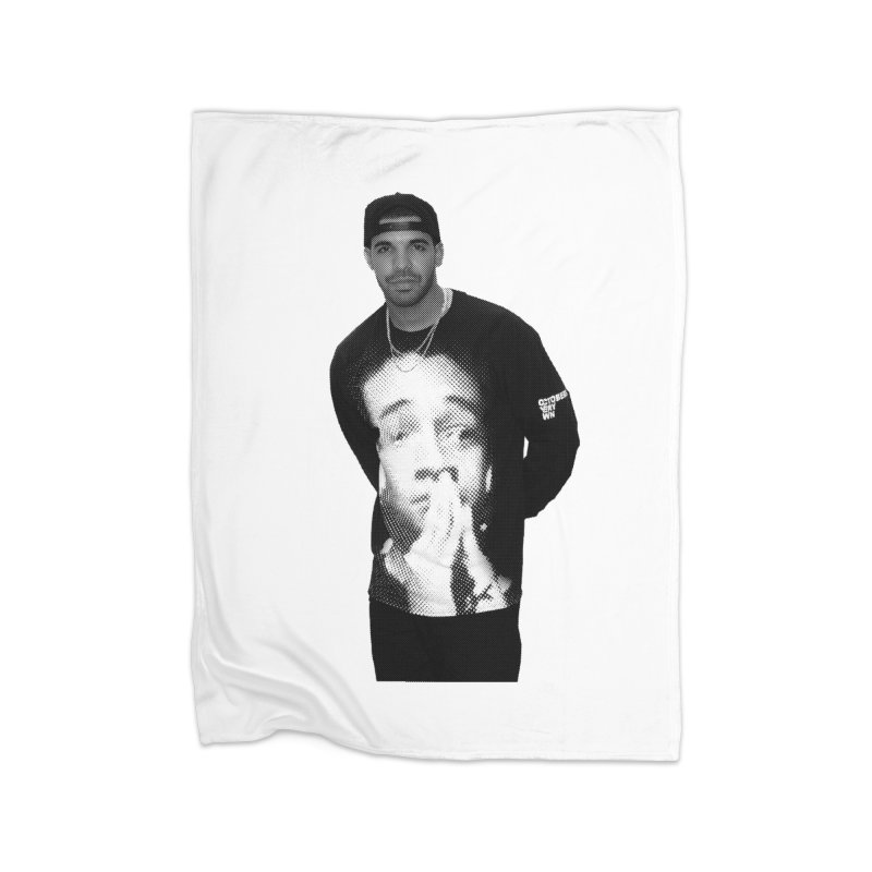 drake & jaden Home Fleece Blanket Blanket by upso's Artist Shop