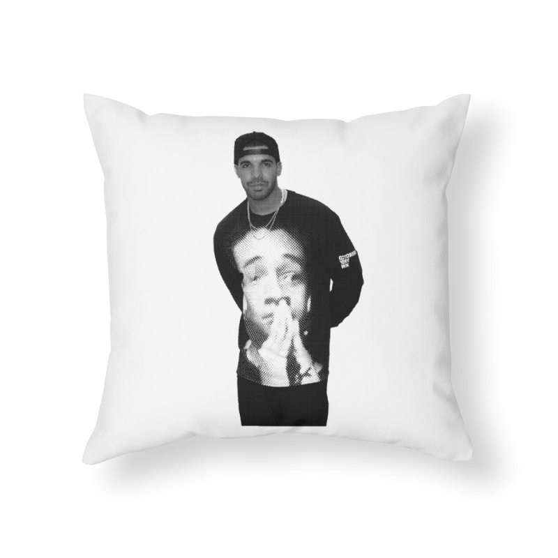 drake & jaden Home Throw Pillow by upso's Artist Shop