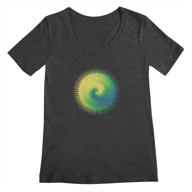 why does everything have to have a name? Women's Scoopneck by upso's Artist Shop