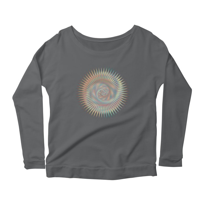 some people believe in things  Women's Longsleeve Scoopneck  by upso's Artist Shop
