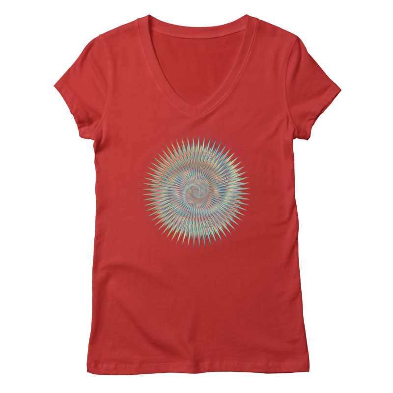 some people believe in things  Women's V-Neck by upso's Artist Shop