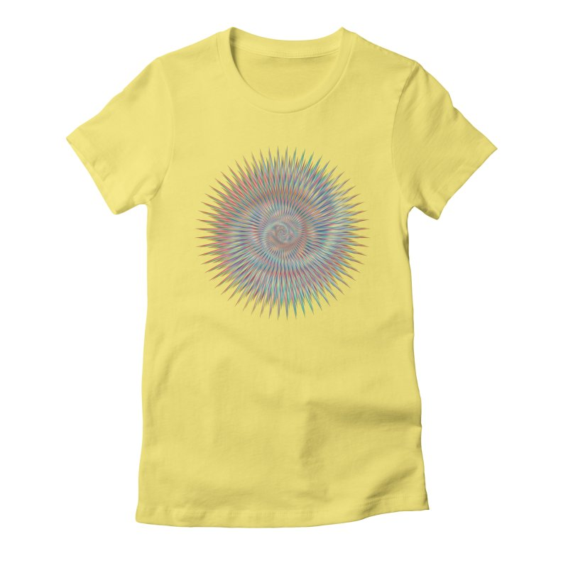 some people believe in things  Women's Fitted T-Shirt by upso's Artist Shop