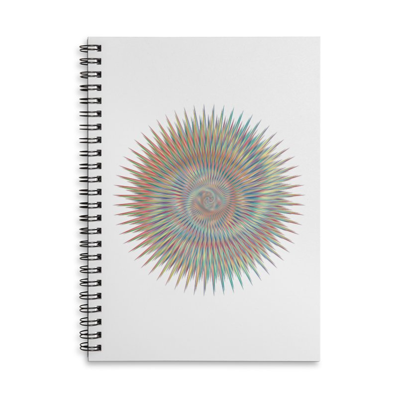 some people believe in things  Accessories Lined Spiral Notebook by upso's Artist Shop