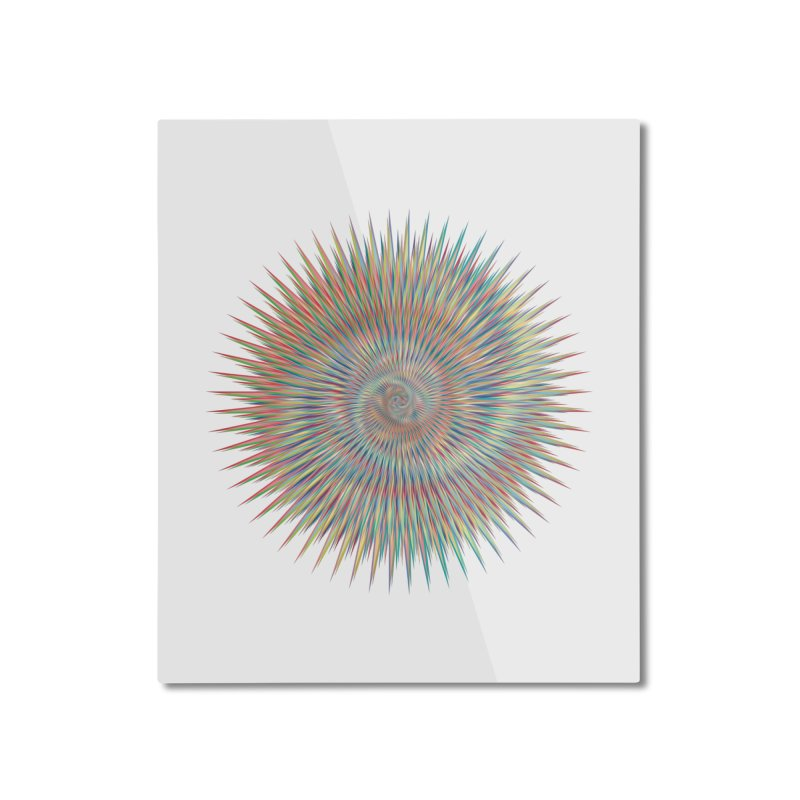 some people believe in things  Home Mounted Aluminum Print by upso's Artist Shop