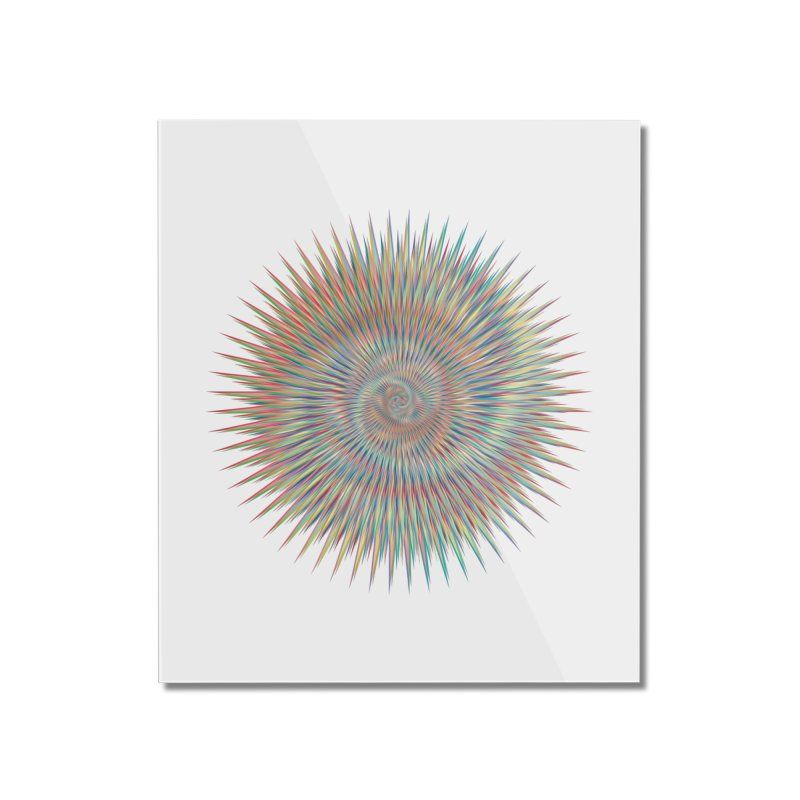some people believe in things  Home Mounted Acrylic Print by upso's Artist Shop