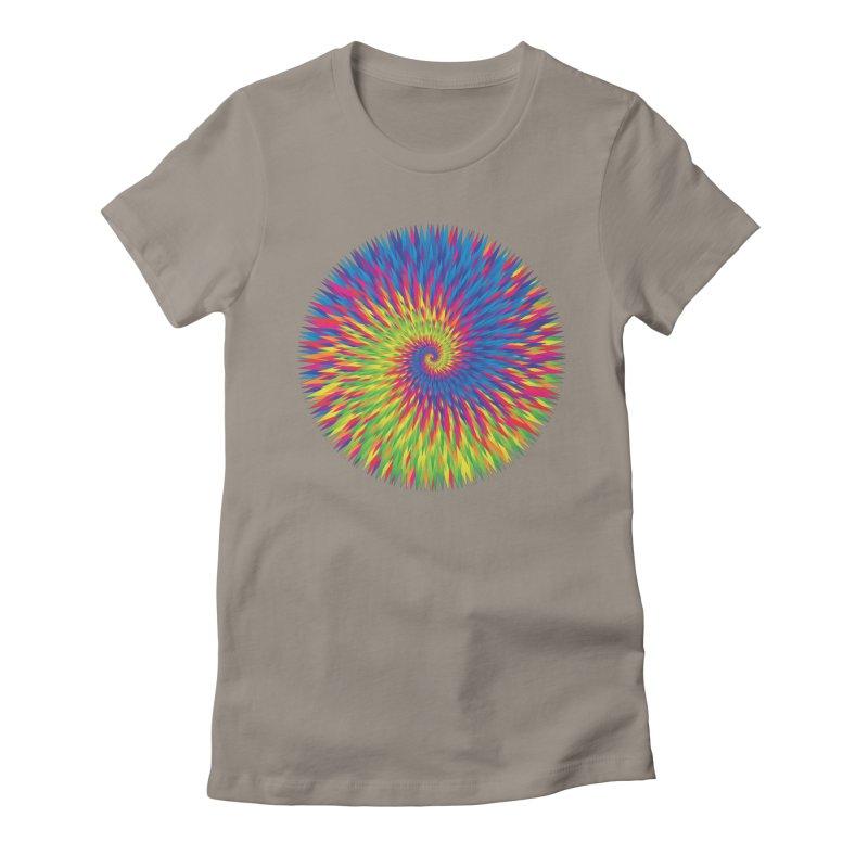 die yuppie scum Women's Fitted T-Shirt by upso's Artist Shop