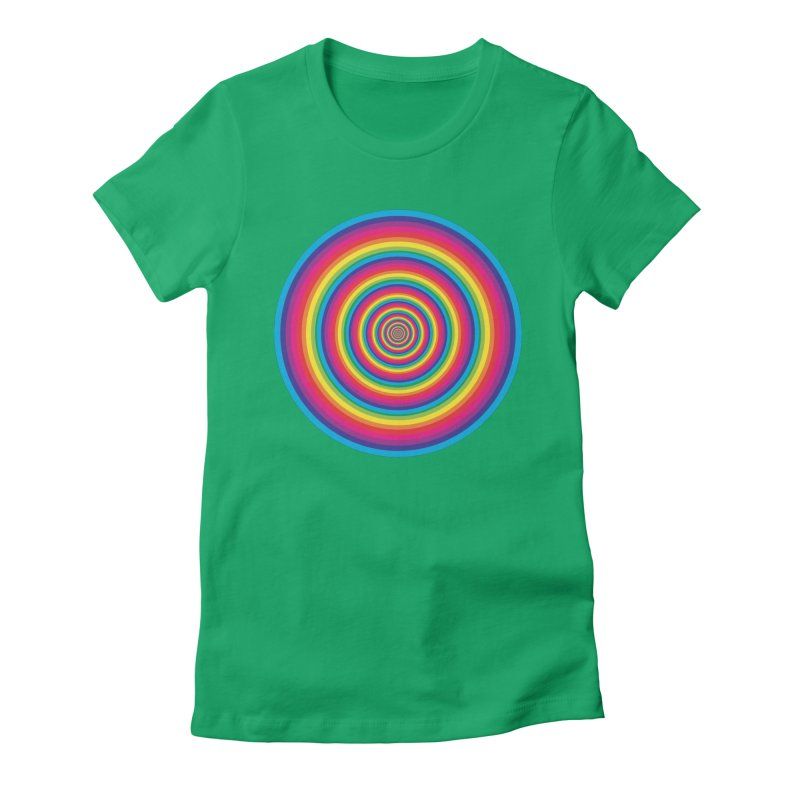 target pharmacy Women's Fitted T-Shirt by upso's Artist Shop
